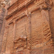 Ancient nabatean ruins — Stock Photo