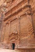 古 nabatean 遗址 — 图库照片