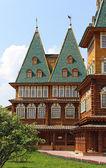две башни старой русской королевского дворца — Стоковое фото
