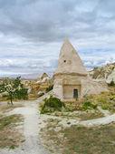 Domed house in Cappadocia — Stock Photo