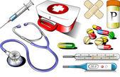 Medical equipment — Stock Vector