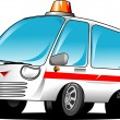 Stock Vector: Ambulance