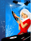 Magic night — Stok Vektör
