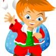 Little elf — Vector de stock #14852625