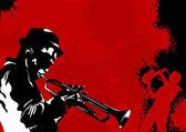 Die besten trompete — Stockvektor