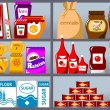 Collection of goods - Image vectorielle