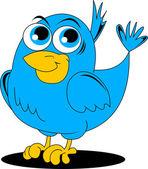 きれいな鳥 — ストックベクタ