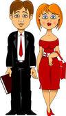 Marrieds — Stock Vector