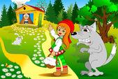 童话故事 — 图库矢量图片