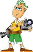 Fotograf — Stock vektor