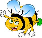 Bumble-bee — Stock Vector