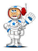 Astronauta — Vector de stock