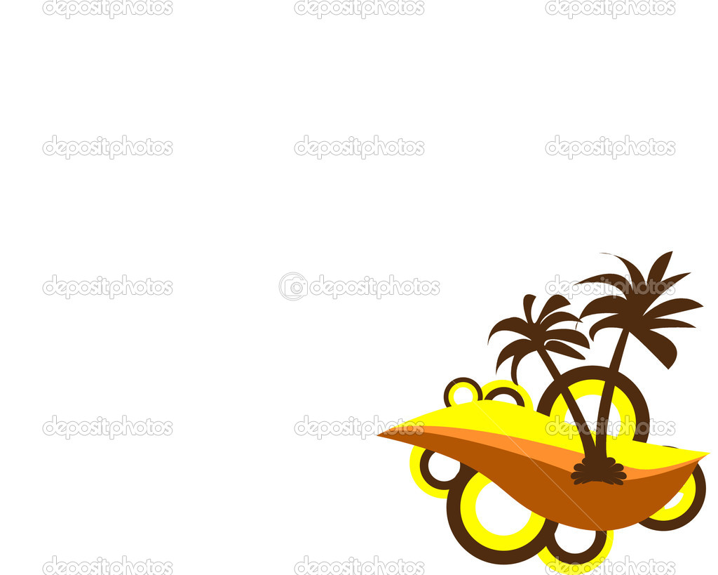 Palm tree background — Stock Photo #13493797