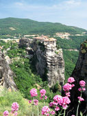 Holly monastery of Varlaam, Meteora near Kalampaka in Greece — Stock Photo