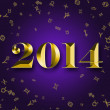 Foto Stock: New Year 2014 with astrology signs