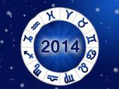 2014 Horoscope — Stock Photo