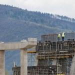 Bridge under construction — Stock Photo #10365614