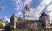 Fortified church in Transylvania, Romania — Stock Photo