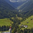 Valley in Austria — Stock Photo