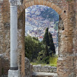 Taormina  in Sicily Italy — Stock Photo