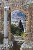 Taormina in Sicily Italy — Stock Photo