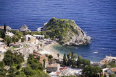 Sea resort taormina — Stockfoto