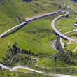 Stock Photo: St Gotthard pass towards from Switzerland to Italy