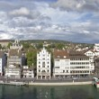 Stock Photo: Zurich cityscape panorama