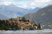Lake Como in Italy, Rezzonico — Stock Photo
