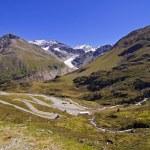 Austrian alps in Kaunertal Tirol — Stock Photo
