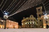 Christmas lights — Stok fotoğraf