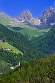 Mountain landscape in Austria Tirol — Stock Photo