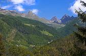 Berglandschaft in österreich tirol — Stockfoto