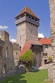 Calnic medieval fortress in Transylvania Romania — Stock Photo