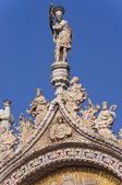 Detail of St Mark cathedral in Venice Itay — Stockfoto