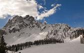 Dolomites in winter — Stock Photo