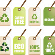 Eco recycle labels — Stock Photo #2153523