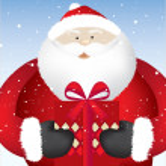 Santa present close — Stock Photo #2238575