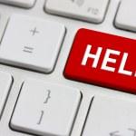 Help button — Stock Photo #2761043