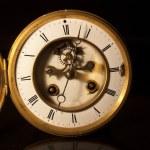 Face of an antique victorian clock — Stock Photo #28858271