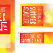 SIZZLING SALE label, banner and poster — Stock Photo #47321211