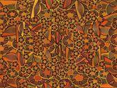 Seamless decorative texture — Foto de Stock