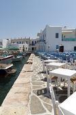 Port of Naoussa, Paros island , Greece — Stock Photo