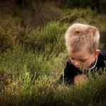 Child in nature — Stock Photo #6070008