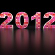 3d new year 2012 — Stock Photo #7580598