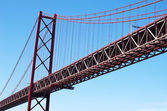 April 25th Bridge in Lisbon, Portugal — Stock Photo