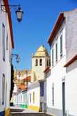 Quiet street in Alvito village, Alentejo, Portugal — 图库照片