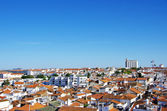 View of old city, Moura, Portugal — Stock Photo
