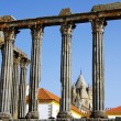 Roman temple at Portugal. — Stock Photo