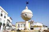 Portas de Moura square, Evora, Portugal — Stock Photo